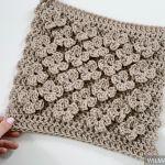 Vela Flower Square Free Crochet Pattern
