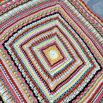 Alicia's Rose Garden Blanket Free Crochet Pattern