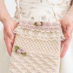 Antique Lace Wedding Bag Free Crochet Pattern