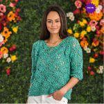 Bernat Top Free Crochet Pattern