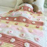 Blossoms Bloom Baby Blanket Free Crochet Pattern