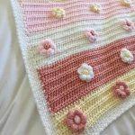 Blossoms Bloom Baby Blanket Free Crochet Pattern2