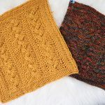 Braided Cables Square Free Crochet Pattern