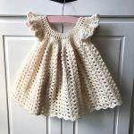 Girls Dress Brigitte Free Crochet Pattern