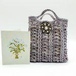 Hemp Gift Bag Free Crochet Pattern