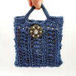 Hemp Gift Bag Free Crochet Pattern2