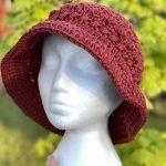 Kisses Sun Hat Free Crochet Pattern2