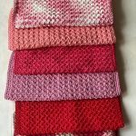 Shades Of Pink Kitchen Towels Free Crochet Pattern