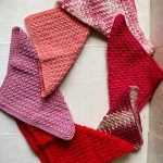Shades Of Pink Kitchen Towels Free Crochet Pattern2