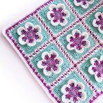 Baby Girl Blanket Free Crochet Pattern