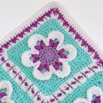 Baby Girl Blanket Free Crochet Pattern2