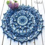 Blueberry Hill Mandala Free Crochet Pattern2