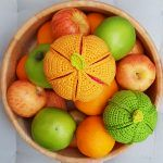 Fruity Segment Balls Free Crochet Pattern