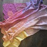Hexagon Throw Blanket Free Crochet Pattern