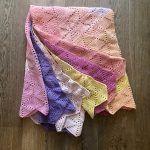 Hexagon Throw Blanket Free Crochet Pattern2