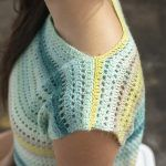 Shoreline Streip Cropped Top Free Crochet Pattern2