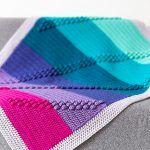 Bobble Track Blanket Free Crochet Pattern2