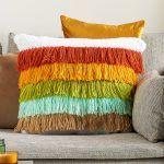 Fabulous Fringe Pillow Free Crochet Pattern