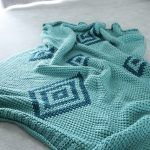 Gilal Diamond Throw Blanket Free Crochet Pattern