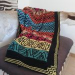 Shapes and Colours Blanket Free Crochet Pattern2