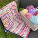 Vintage Rose Blanket Free Crochet Pattern