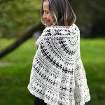 Gina Shawl Free Crochet Pattern2