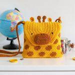 Giraffe Bag Free Crochet Pattern