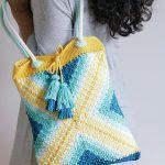 Tote Bag Seaside Free Crochet Pattern2